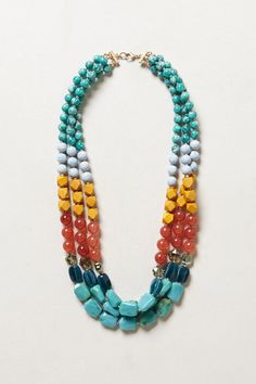 Clifton Strands Necklace - Anthropologie.com
