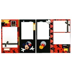 Items similar to It's a Day Full of Magic - Premade Scrapbook Page Set on Etsy School Scrapbook, Disney Scrapbook Pages, 12x12 Scrapbook, Scrapbooking Layouts, Disney Day, Mickey Mouse And Friends, Paper Artist, Best Day Ever, Scrapbooks