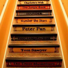 Storybook Painted Staircase