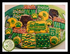 Baylor Bears - Tailgate Party   Cookie Connection