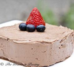 clean eating chocolate peanut butter frosting