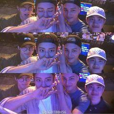 Sehun, Chanyeol, Jongin, & Kyungsoo