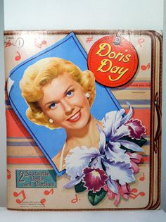 Vintage Doris Day Paper Dolls  1952 by Bee77 on Etsy, $35.00