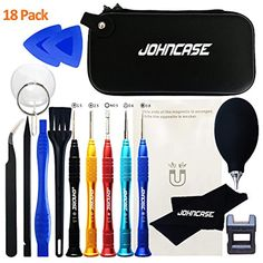 Tool Sets Wowstick 18 In 1 Mobile Phone Opening Pry Repair Tools Kit Metal Spudger Esd Tweezers Antistatic Wrist Strap Socket Portable Bag Terrific Value Back To Search Resultstools