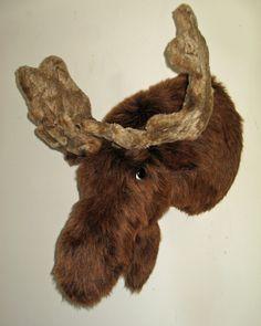 """Amazon.com : Plush Moose Head """"Erik"""" XX Large Trophy Mount : Everything Else"""