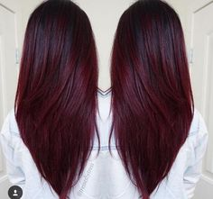 We've collected 47 gorgeous burgundy hair color ideas and styles that would look great with this sexy, rock-star hue. Go a bit outside your comfort zone and make an appointment with your stylist today to rock your new maroon or burgundy hair color! Winter Hairstyles, Cool Hairstyles, Hairstyle Ideas, Latest Hairstyles, Burgundy Hairstyles, Christmas Hairstyles, Wedding Hairstyles, Evening Hairstyles, Elegant Hairstyles