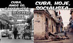 👏👌Cuba antes e depois do Comunismo!!!