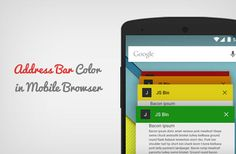 Want to change color of your site's address bar in Android browser? Learn how to change color of address bar in mobile browser to match your WordPress site.