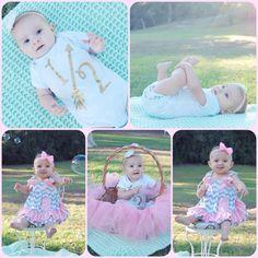 6 month old photos - half birthday photos - 1/2 birthday