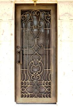Parisian Iron Entry Doors #Firstimpression