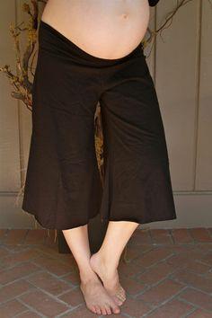 maternity gaucho pants - Pi Pants