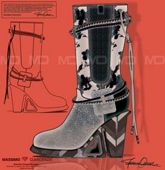 'MD' Massimo D'ascenzo Beautiful Designs. MUMIT FOOTWEAR BY Massimo D'ascenzo.   'MUMIT' - Flowers. Winter Boots.  Instagram@massimodascenzo  www.massimod.com  #luxury#jewellery#handbags#love#fashionAddict.  https://www.facebook.com/pages/ Massimo-Dascenzo-Luxury-Jewellery-Handbags/485052561622939?ref=hlj