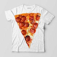 PIZZA SLICE GRAPHIC TEE Pepperoni, Graphic Tees, Pizza, Trending Outfits, Shirts, Food, Lovers, Clothes, Products
