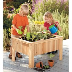 Small Garden Tools & The Perfect Raised Garden Bed. Plant, Tend, Harvest & Eat...