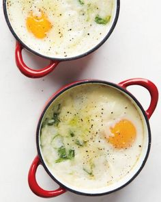 Baked Eggs and Grits Recipe