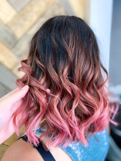 Kids Hair Color, Summer Hair Color For Brunettes, Cute Hair Colors, Bright Hair Colors, Hair Color Pink, Hair Dye Colors, Hair Color For Black Hair, Cool Hair Color, Bright Pink