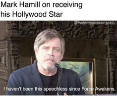Mark Hamill is the ultimate Space Dad ❤️