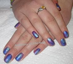 Pigments, CND Shellac, and CND Brisa Lite Smoothing Gel.