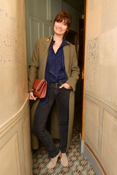 Caroline de Maigret - Frame x Lara Stone Dinner Vogue Fashion Week, Paris Fashion, Fashion Weeks, Minimal Outfit, French Chic, French Style, Aisha Tyler, French Girls, Parisian Chic