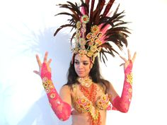 44-samba-costume-hot-pink-red-orange-gold-rhinestone-8