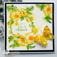Butterfly, Stamp, Ink, Sweet, Flowers, Cards, Candy, India Ink, Bow Ties
