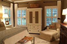 bedroom idea, southern style, cozy bedroom, duvet covers, southern master bedroom, master bedrooms, window treatments, side chairs, savvi southern