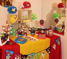 Angry Birds Candy Bar by Violeta Glace