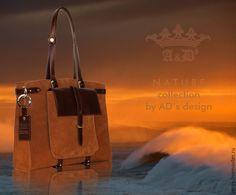 872fb200c56d Купить Копия работы Сумка Twins AD's Tobacco Terracotta - коричневый, сумка  ручной работы
