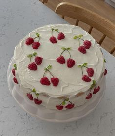 Pretty Birthday Cakes, Pretty Cakes, Cute Baking, Summer Cakes, Think Food, Cute Desserts, Just Cakes, Cafe Food, Mini Cakes