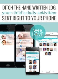 PreciouStatus is the easy way to keep up with your baby even when you're not with them. Now you can have their activities and updates sent to your phone!
