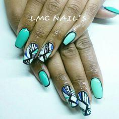 #nails #ongles #Nailsart #nailartiste #nailart #gel #chablon