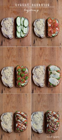 Yummy Bombay Sandwich Recipe #Cook Republic #healthy