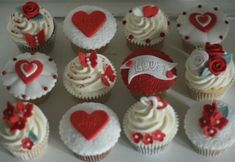 What better way to show your love for that special person, than ordering a box of scrumalicious bespoke Valentine's cupcakes for them? Description from sprinklesandswirls.co.uk. I searched for this on bing.com/images