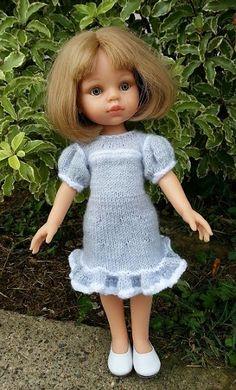 """J'ai choisi Stellie pour vous présenter cette nouvelle interprétation du modèle  """"Rhumba dress""""   J'aime les manches ballons, les volants..."""