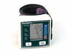 HealthPro Wrist Blood Pressure Monitor Health Pro Blood Pressure Monitor Wrist Watch Style - HP-782 Z Amazon Prime Membership, Large Crystals, Keep An Eye On, Blood Pressure, Monitor, Watch, Health, Style, Swag