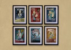 Awesome Fallout prints.
