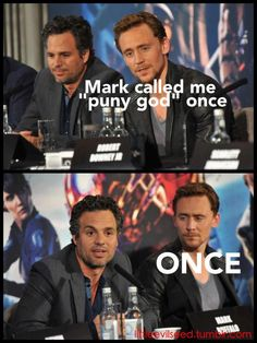 Once! ;). Avengers