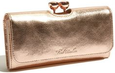 Rose gold Minnie Bobble Matinee Clutch Wallet - Lyst