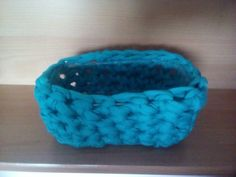 Modry košíček Merino Wool Blanket