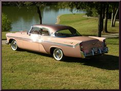 1956 DeSoto Fireflite Sportsman 2 door Hardtop Maintenance/restoration of… Classic Motors, Classic Cars, Desoto Cars, Move Car, Pink Cadillac, Cars Usa, Unique Cars, Car Photos, Amazing Cars