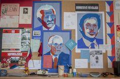 Žáci 22. ZŠ v Plzni vytvořili pozoruhodnou výstavu ke 100. výročí Československa