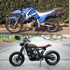 Suzuki Scrambler - Bike's For you - Motor Honda Scrambler, Cafe Racer Honda, Cafe Bike, Cafe Racer Build, Cafe Racer Motorcycle, Tracker Motorcycle, Moto Bike, Honda 125 Cg, Auto Design