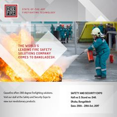 India's biggest Fire Safety brand comes to Bangladesh.
