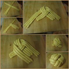 Making of Berne Brot Dough Baking Tips, Baking Recipes, Pastry Design, Bread Shaping, Bread Art, Braided Bread, Pastry Art, Jewish Recipes, Bread And Pastries