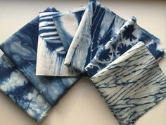 Cape Cod Shibori hand dyes shibori fabrics for artists, employing many techniques and colors, as well as indigo. Rachel also offers pillows and other finished products in her shop on Etsy.