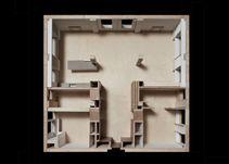 Queens Court Apartment Feilden Fowles Architects  Model