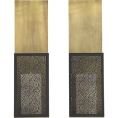 Ness Candle Sconce Set Of Two In Candleholders | Crate And Barrel
