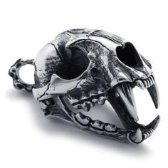 316L Titanium Steel Dinosaur Skull Pendant for Men's Fashion Styles by The Sterling Jewelers. $63.57. Please refer to SKU# PRA25266336 when you inquire.. Shipping Weight: 0.11 lbs. This product may be prohibited inbound shipment to your destination.. Residents of CA, DC, MA, MD, NJ, NY - STUN GUNS, AMMO/MAGAZINES, AIR/BB GUNS and RIFLES are prohibited shipping to your state. Also note that picture may wrongfully represent. Please read title and description thorough...