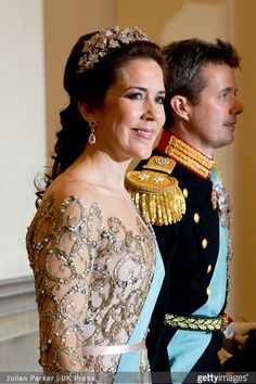 Gala dinner in honor of Queen Margrethe's 75th birthday at Christiansborg Palace