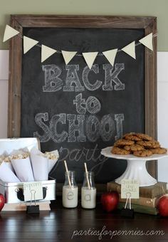 Back To School Party by PartiesforPennies.com